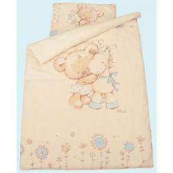"""Комплект постельного белья в кроватку для новорождённого Золотой гусь """"Mika"""", 3 предмета"""