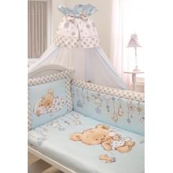 """Комплект в кроватку для новорождённого Золотой гусь """"Mika - Сатин"""", 7 предметов"""
