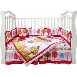Комплект в кроватку для новорождённого 7 предметов Giovanni Jolly Baloon (серия Shapito)