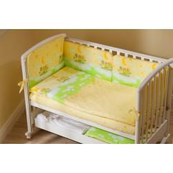 Комплект в детскую кроватку для новорождённого Perina Аманда из 4 предметов