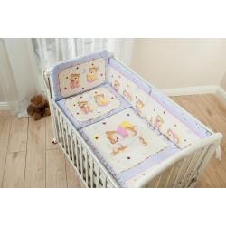Комплект в детскую кроватку для новорождённого Perina Ника из 4 предметов