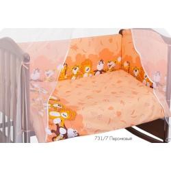 Комплект в детскую кроватку Сонный гномик Африка 7 предметов
