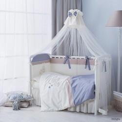 Комплект в детскую кроватку из шести предметов Perina Котята