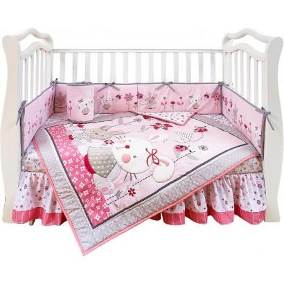 Набор для детской кроватки 7 предметов Giovanni Bonny Bunny (серия Shapito)