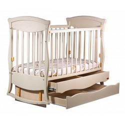 Детская кроватка для новорожденного Наполеон Грация, маятник поперечный