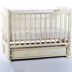 Детская кроватка для новорожденного Ведрусс Милена, с продольным маятником