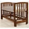 Детская кроватка для новорожденного Angela Bella Бьянка продольный маятник