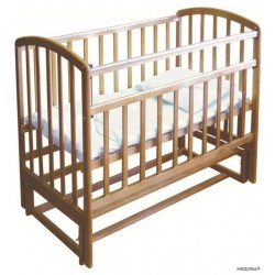 Детская кроватка для новорожденного продольный маятник Фея 312