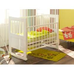 Детская кроватка для новорожденного Атон Герда качалка+колёса