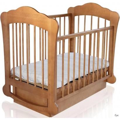 Детская кроватка Можгинский лесокомбинат Амалия поперечный маятник плюс ящик