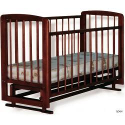 Детская кроватка для новорожденного поперечный маятник Дарина Можгинский лесокомбинат