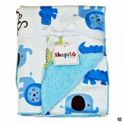 Покрывало флисовое на кроватку новорождённого Giovanni