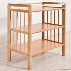 Детский пеленальный столик-комод из бука Angela Bella Vito