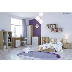 Шкаф для детской комнаты Polini Classic