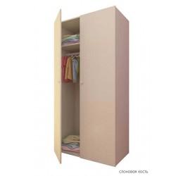 Шкаф для детской комнаты Фея 2-х секционный