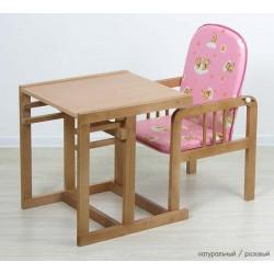 Детский стул-стол-трансформер Фея Матрёшка люкс